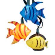 Kurt Adler 10-Light Tropical Fish Light Set - Indoor & Outdoor