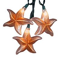 Kurt Adler 10-Light Starfish Christmas Light Set - Indoor & Outdoor