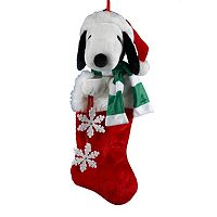 Kurt Adler Snoopy Christmas Stocking