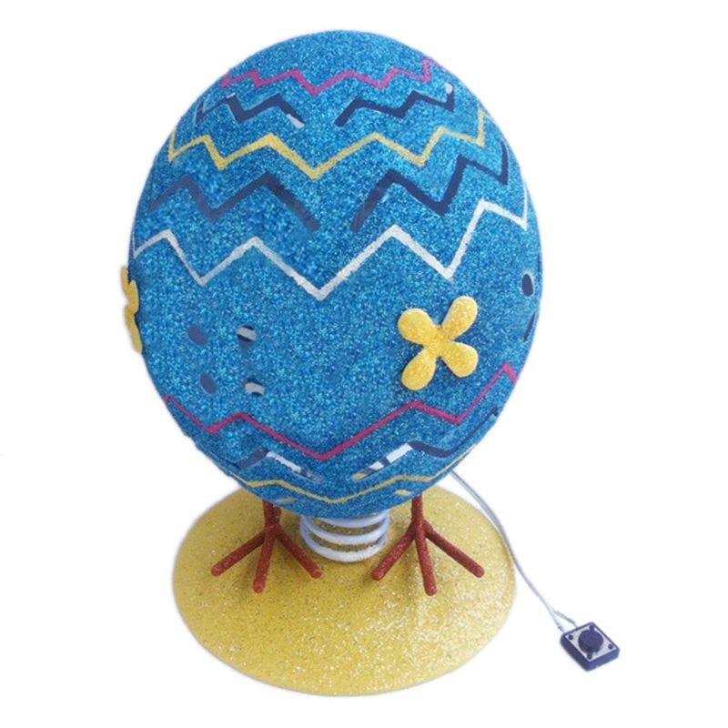 Metal LED Easter Egg