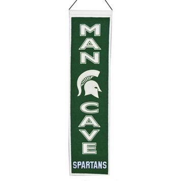 Michigan State Spartans Man Cave Banner