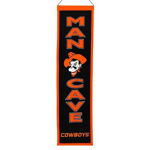 Oklahoma State Cowboys Man Cave Banner