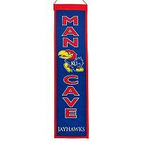 Kansas Jayhawks Man Cave Banner