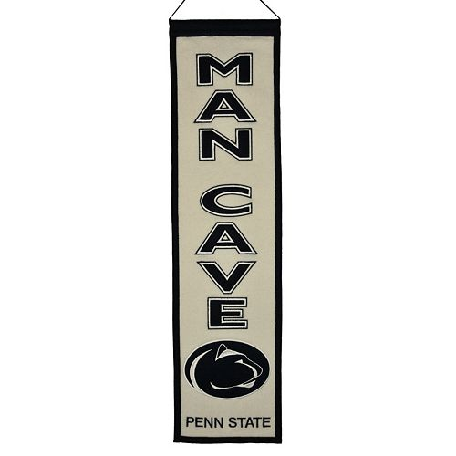 Penn State Nittany Lions Man Cave Banner