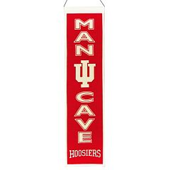 Indiana Hoosiers Man Cave Banner