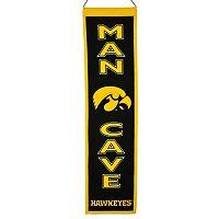 Iowa Hawkeyes Man Cave Banner