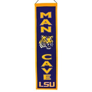 LSU Tigers Man Cave Banner