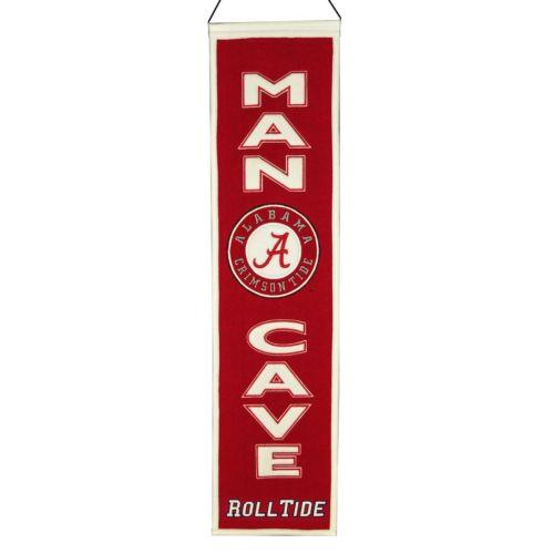 Alabama Crimson Tide Man Cave Banner