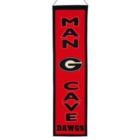 Georgia Bulldogs Man Cave Banner