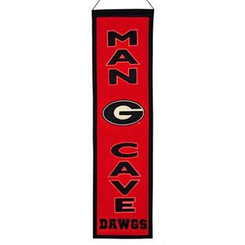 Georgia Bulldogs Man Cave Banner