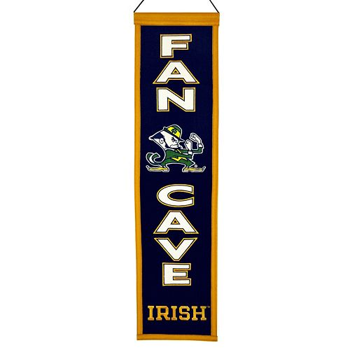 Notre Dame Fighting Irish Man Cave Banner