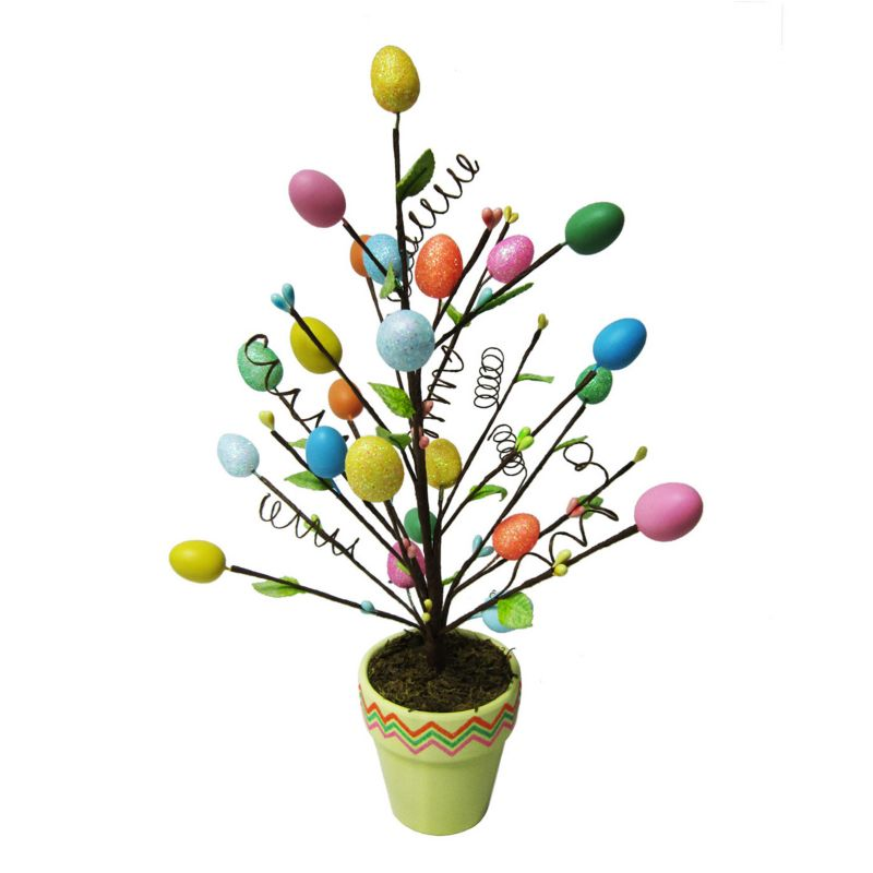 Easter Egg Potted Tree