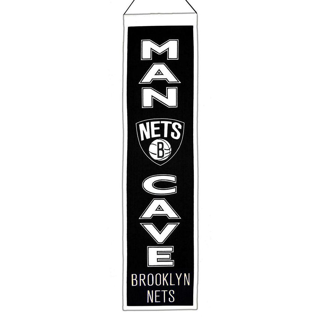 Brooklyn Nets Man Cave Banner