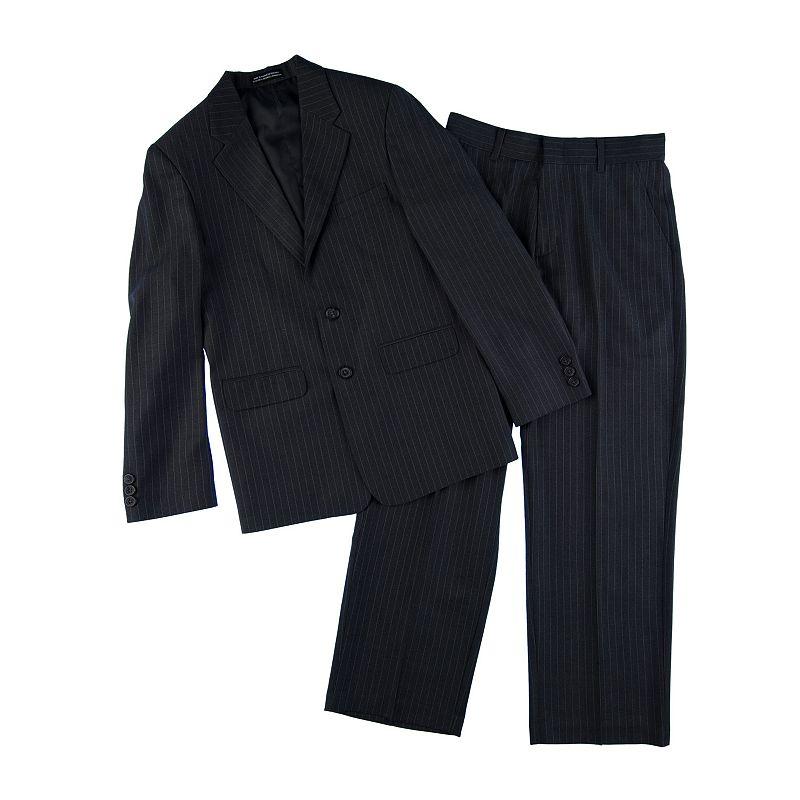 Van Heusen Pinstripe Suit Set - Boys 8-20