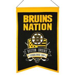 Boston Bruins Nations Banner