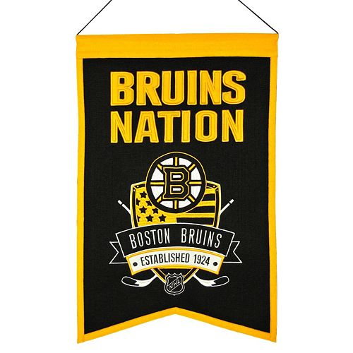 Boston Bruins Nations Banner