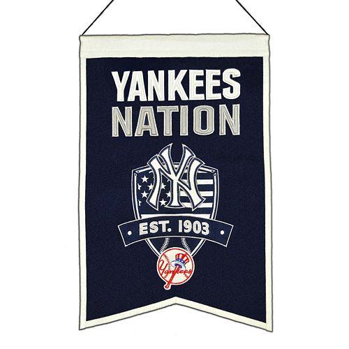 New York Yankees Nations Banner