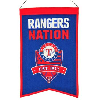 Texas Rangers Nations Banner