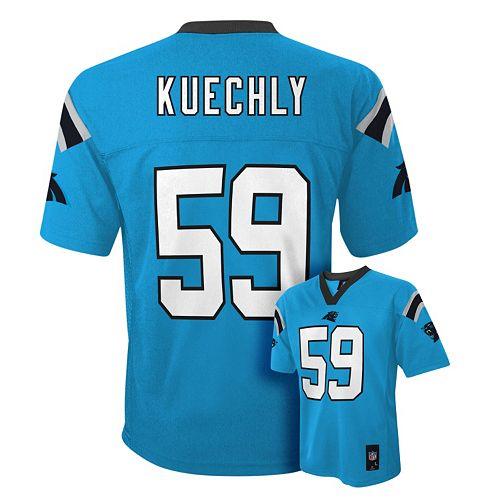 online store d17c3 6a2de Carolina Panthers Luke Kuechly NFL Jersey - Boys 8-20