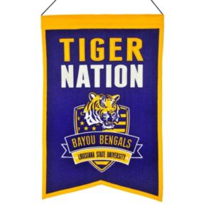 LSU Tigers Nations Banner