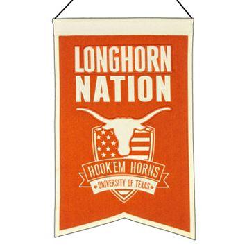 Texas Longhorns Nations Banner