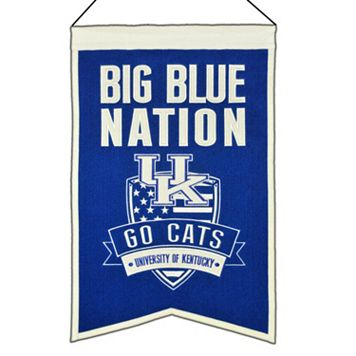 Kentucky Wildcats Nations Banner