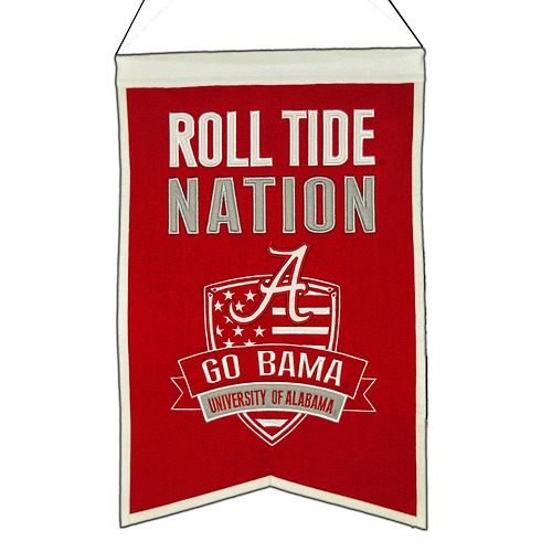 Alabama Crimson Tide Nations Banner