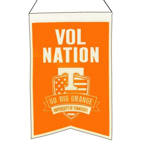 Tennessee Volunteers Nations Banner