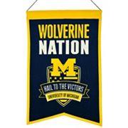 Michigan Wolverines Nations Banner