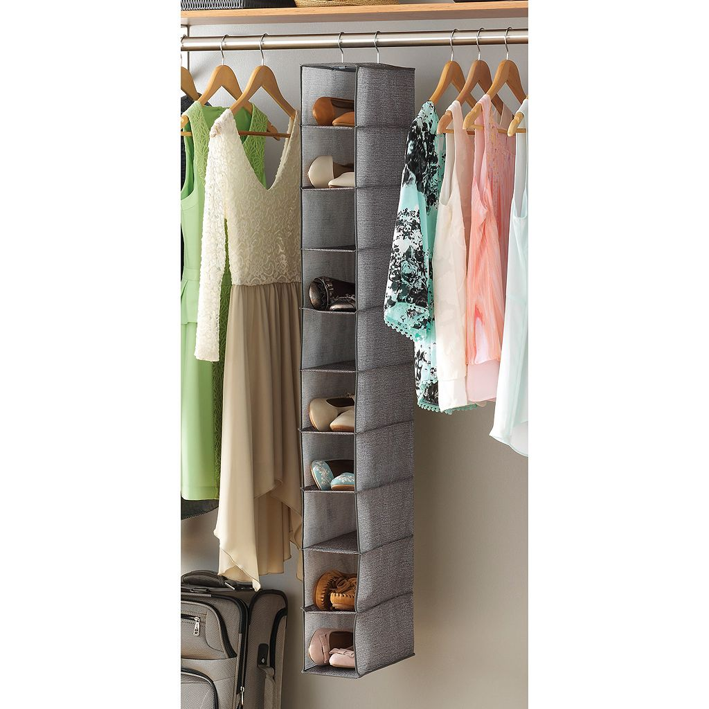 Whitmor Hanging Shoe Shelves Organizer