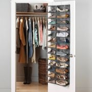 Whitmor Over-The-Door Shoe Shelves Organizer