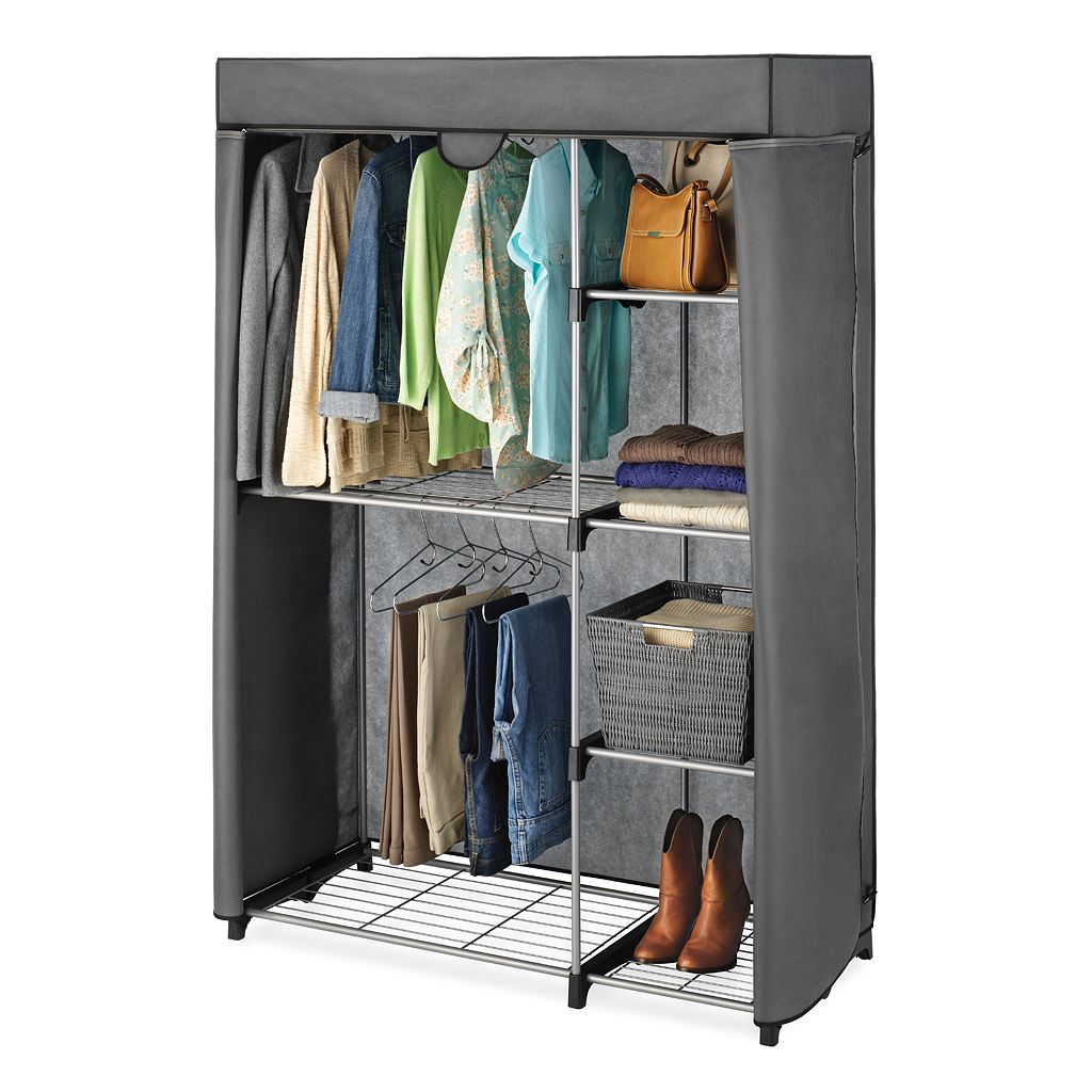 Whitmor Double-Rod Closet Cover