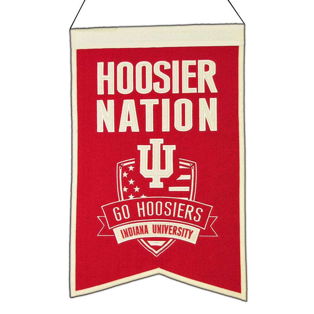 Indiana Hoosiers Nations Banner