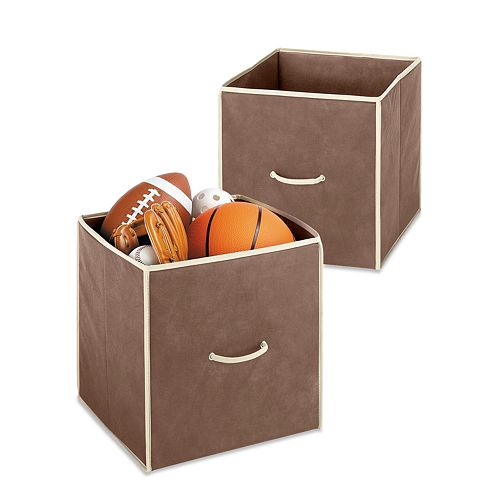 Whitmor 2-pk. Collapsible Storage Cubes