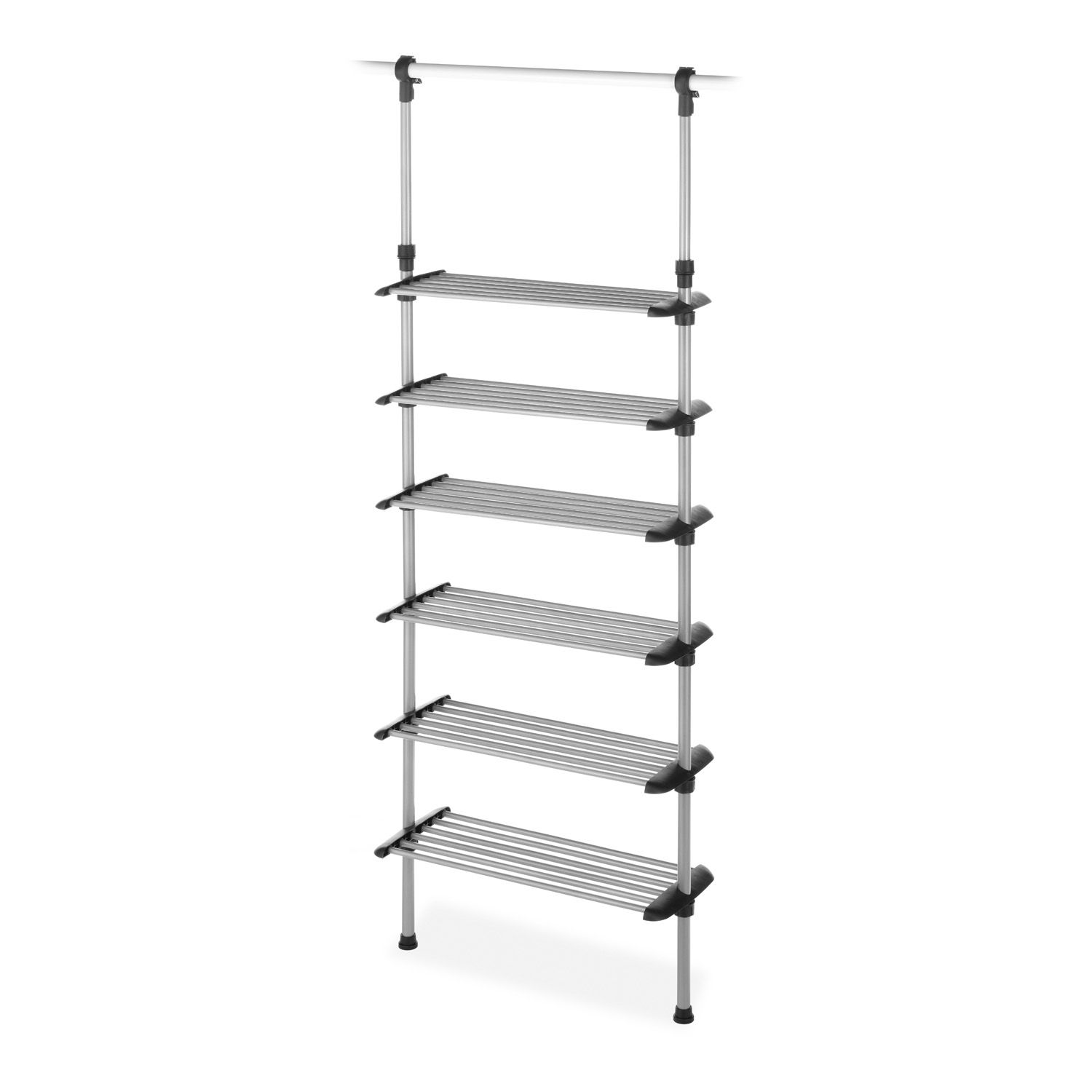 Whitmor 6 Shelf Closet Rod Closet System