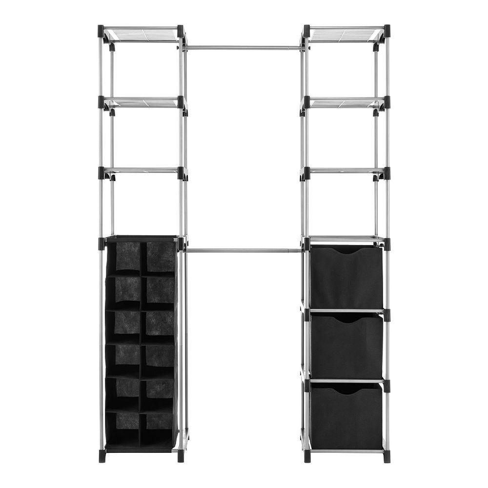 Whitmor Deluxe Double-Rod Closet