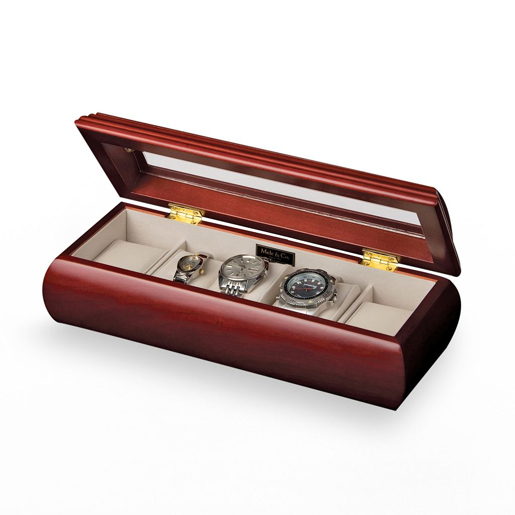 Mele and Co. Emery Wood Watch Storage Box