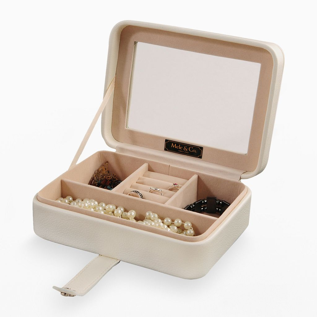 Mele and Co. Rio Travel Jewelry Box