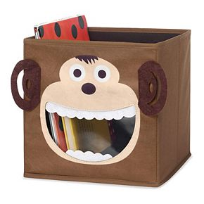 Whitmor Monkey Collapsible Storage Cube