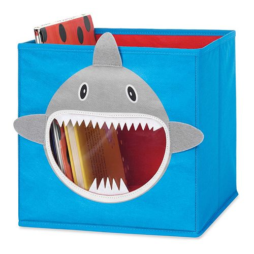 Whitmor Shark Collapsible Storage Cube