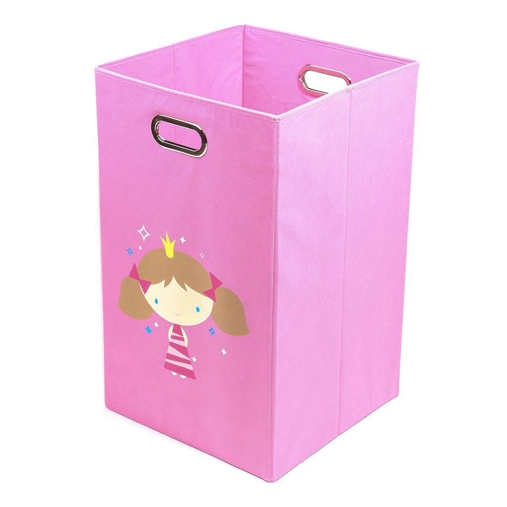 Nuby Princess Folding Laundry Bin