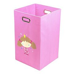 Nuby Princess Folding Laundry Bin