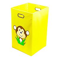 Nuby Monkey Yellow Folding Laundry Bin