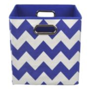 Modern Littles Chevron Folding Storage Bin