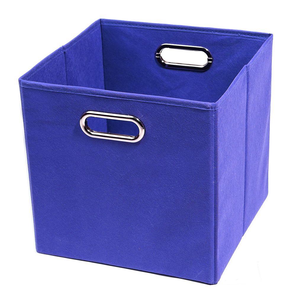 Modern Littles Solid Folding Storage Bin