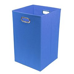 Modern Littles Solid Folding Laundry Bin