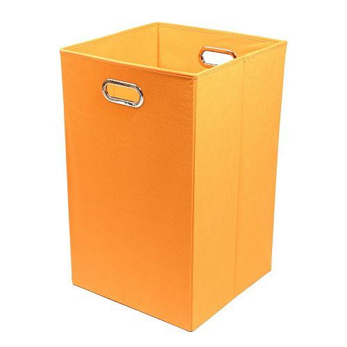 Modern Littles Solid Folding Laundry Bin