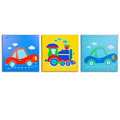 Nuby 3 pkOn The Go Wall Art