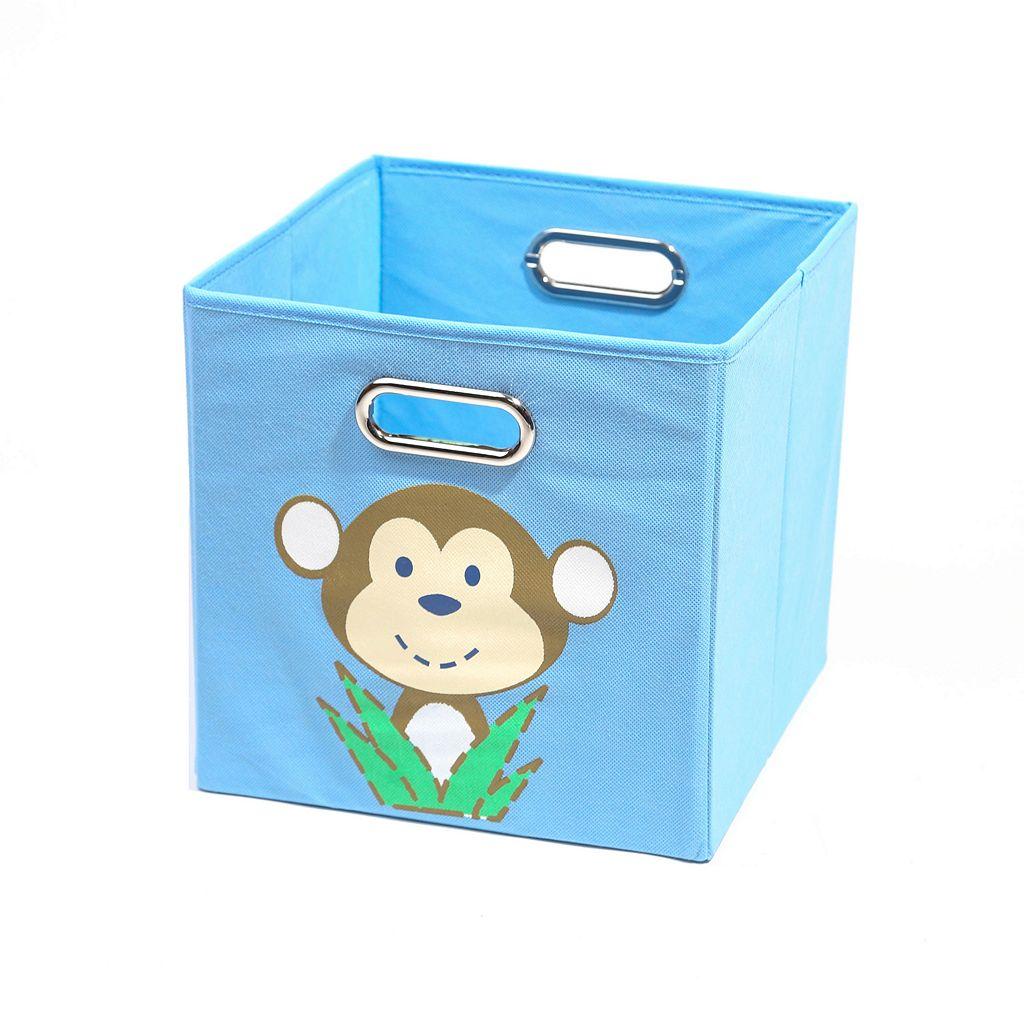Nuby Monkey Folding Storage Bin