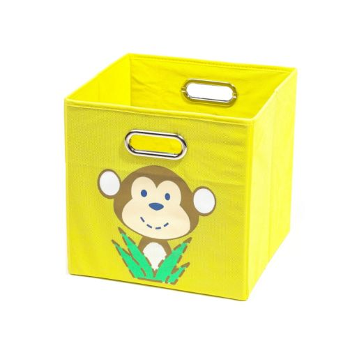 Nuby Monkey Yellow Folding Storage Bin